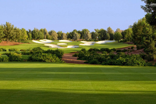 Jumeirah Golf Real Estate is the legend stadiums picturesque