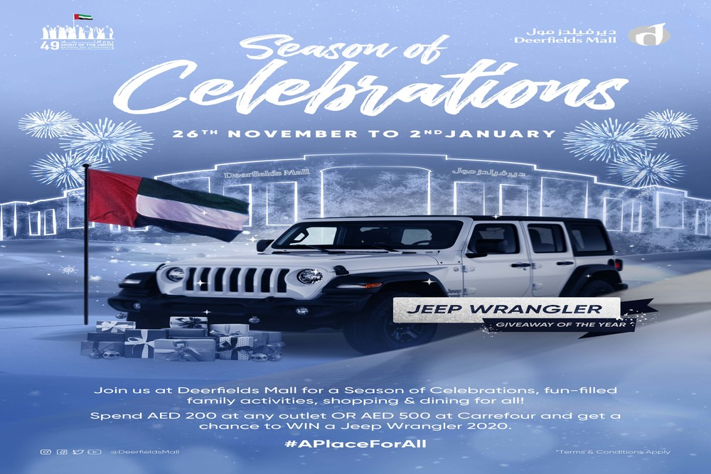 It's the 'Season of Celebrations' This Winter at Deerfields Mall